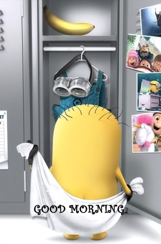 good morning funny